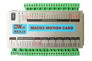 Mach3-USB-XHC-4-Axis-2MHz-CNC-Motion-Control-Card-Breakout-Board-MK4-IV