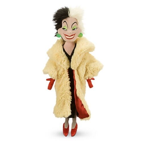 Cruella De Vil Ville Plush Soft Stuffed Doll Toy 101 Dalmatians Medium 21''