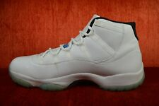 99a9b4bc450 CLEAN Nike Air Jordan 11 Legend Blue 378037-117 Men's Size 14 White Cherry