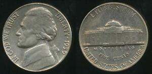 United-States-1959-5-Cents-Jefferson-Nickel-Uncirculated