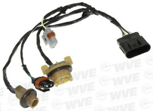 headlight wiring harness wve by ntk 1p2178 fits 06 07 buick lucerne