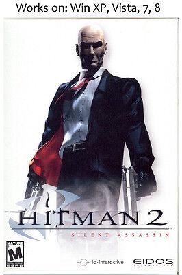 Hitman 2 Silent Assassin Pc Game Windows Xp Vista 7 8 Ebay