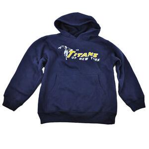 edfa5f08f27 NFL Reebok New York Jets Titans Youth Kids Hoodie Sweater Fleece ...