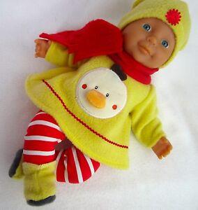 Puppenbekleidung Für Baby Born 32 Kleider Set 5-teilig -Gelb-