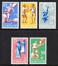 Suriname - 1969 Child welfare; Games Mi. 564-68 MNH