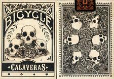 CARTE DA GIOCO BICYCLE CALAVERAS,poker size