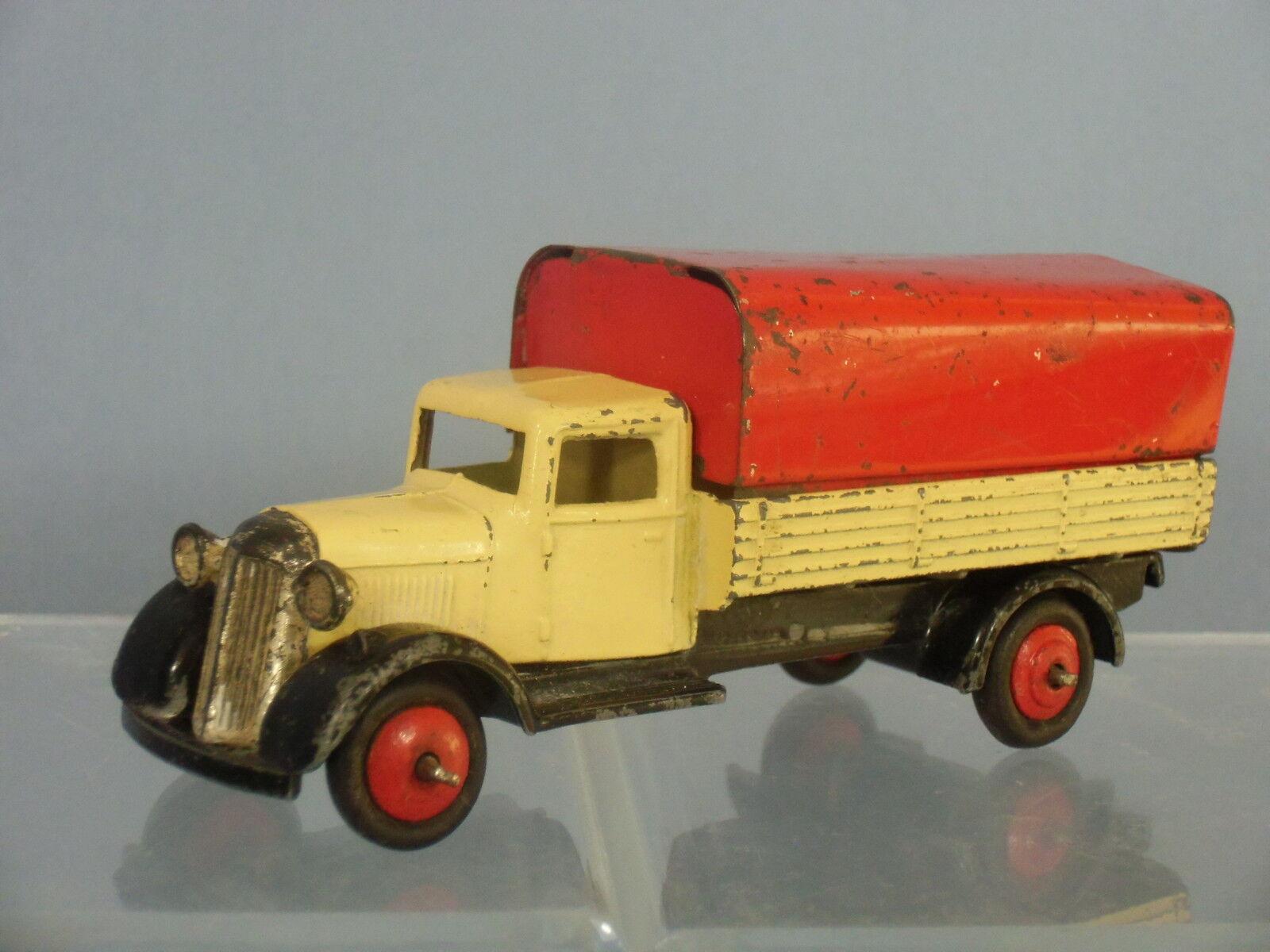 Vintage DINKY DINKY DINKY TOYS modèle No.25b Wagon couvert