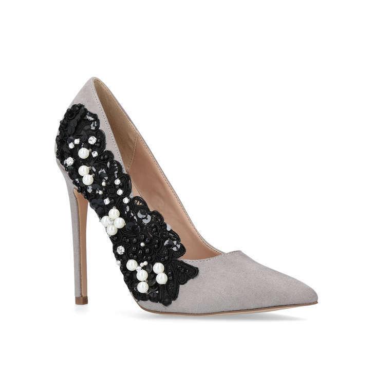 SALE   BNWT BOUNTY KG KURT GEIGER GREY BOUNTY BNWT OCCASION Schuhe Größe: UK 4 - 8 : eb91a8