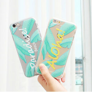 Details about Summer Beach Jelly Case iPhone 6/6S Case iPhone 6/6S Plus Case 8 Types Korea