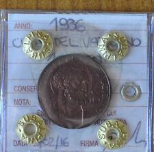 MONETA CITTA' DEL VATICANO 10 CENT PIO XI 1936 sigillata FDC SUBALPINA