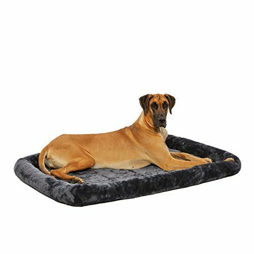 MidWest Quiet Time Pet Bed grigio 54  x 37