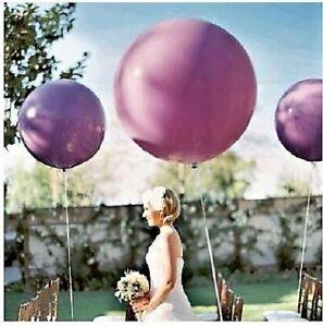 10-x-Riesen-luftballon-Hochzeit-Party-Deko-XXL-Geburtstag-90-cm-gross-ballon