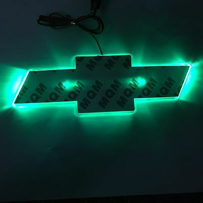 LED Car Tail Logo Auto Badge Light Green Light for Buick Excelle 2010
