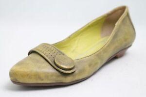 SPM Ballerinas grün Leder Gr. 38 (UK 5)