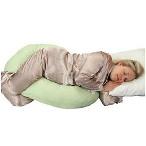 Snoogle-Pregnancy-Baby-Comfort-Pillow-Total-Body-Contour-Side-Sleeper-Support