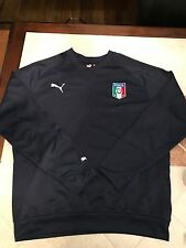PUMA Italy Italia Men's Long Sleeve Soccer Goalkeeper Jersey L Large