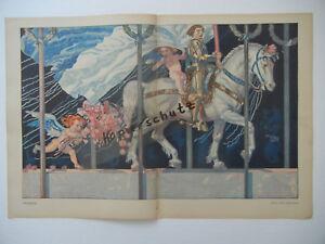 ORIGINAL-SHEET-Magazine-Youth-1911-Julius-Diez-Angelo-Jank-hoess-B327