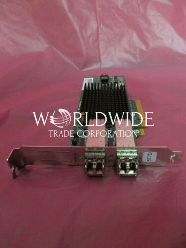x8 IBM 10N9824 5735 8GBPS 2-Port PCIe Fibre Channel Adapter Full Height
