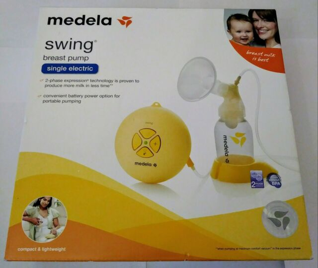 Medela Swing Portable Breastpump Kit Single Electric 67050 For