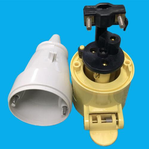 1x 16 A 110 V Secteur De La Construction IP44 Heavy Duty 3 Round Pin Power Plug Socket