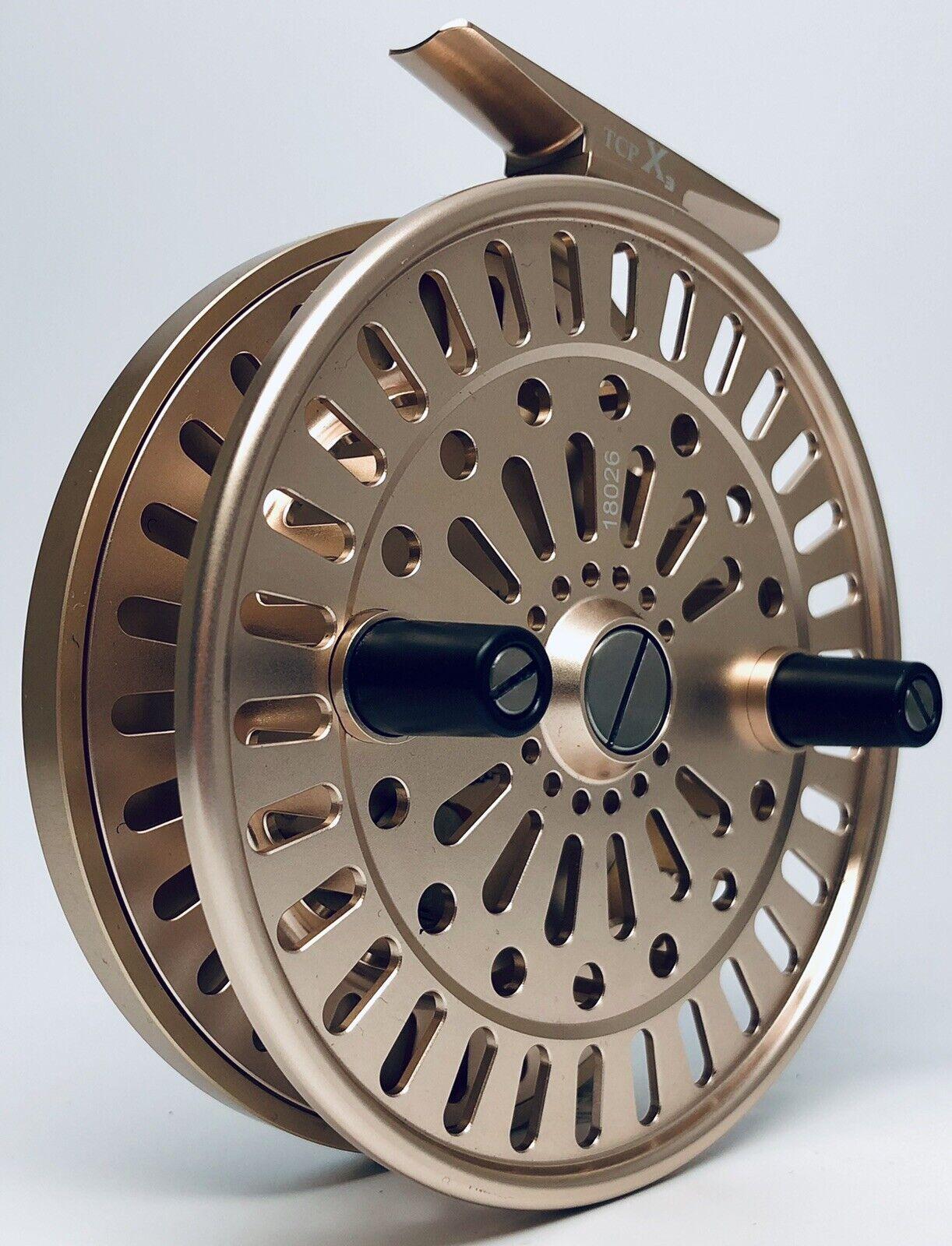 AMUNDSON TREND X3 CENTERPIN FLOAT REEL (pink gold) NEW