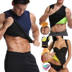 a5ca4b741f Thermo Women Men Gym Body Shaper Sauna Vest Waist Trainer Yoga Cami ...