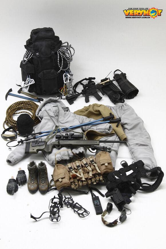 In magazzino molto  SCALA 1 6 VH-1046G Set Vestiti caliente Corpo NO NO HEAD  negozio a basso costo