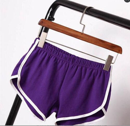 Damen Short Sport Hotpants Sportshorts kurze Hose Fitness Joggingshose Yoga Plus