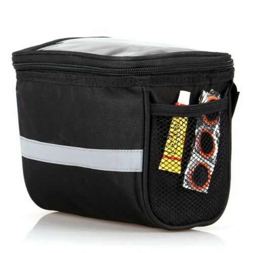 Bicycle Front Bag Cycling Basket Pannier Frame Tube Handlebar Pouch Outdoor