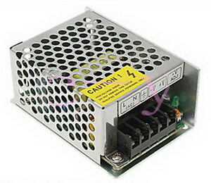 Details about AC 100V-240V DC 5V 5A Adjust Universal Regulated Switching  Power Supply 25W New