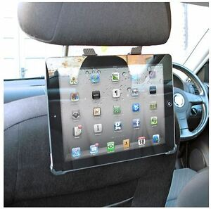 Apple-IPAD-2-3-Adjustable-Car-Seat-Headrest-Mount-Tablet-Holder-Cradle-Strong