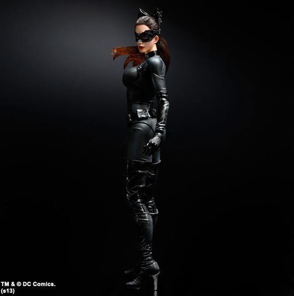 DC SQUARE ENIX PLAY ARTS KAI BATMAN THE DARK KNIGHT CATDamenschuhe ACTION FIGURE