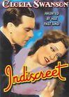 Indiscreet 0089218461490 With Gloria Swanson DVD Region 1