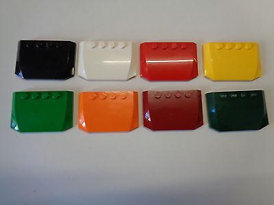 Lego 1x Wedge 4x6x2//3 triple curved toit slope capot bleu//blue 52031 NEUF