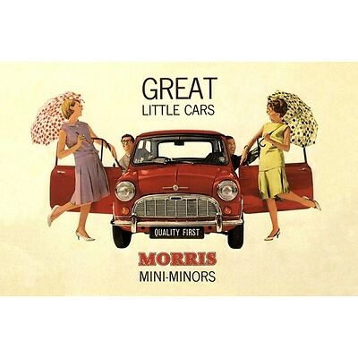 1960s Mini-Minors Print Ad