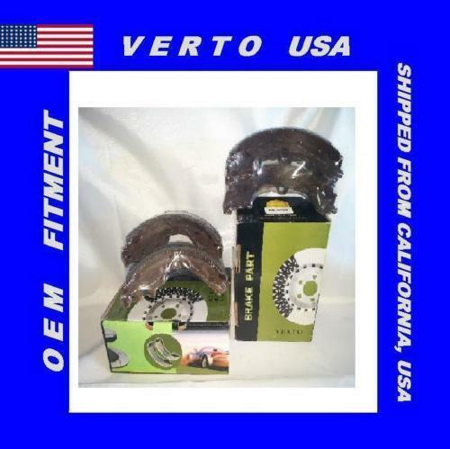 Verto USA Drum Brake Shoe-Premium  Rear BS451B