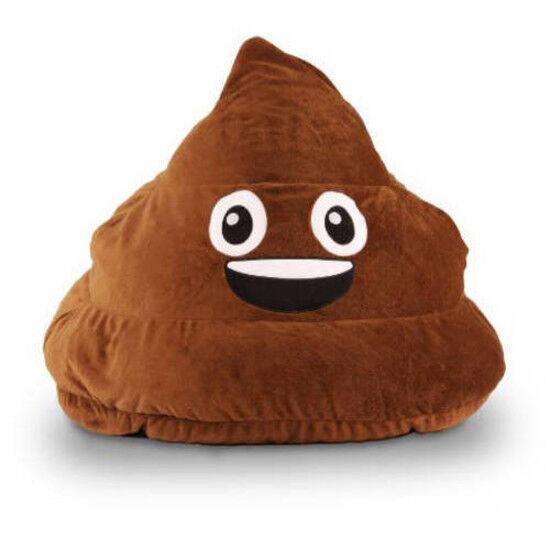 Gomoji Emoji Si Bean Bag Chair Brown