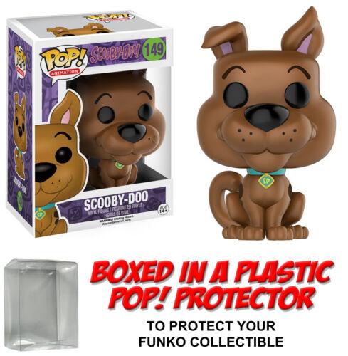 Animation ~ SCOOBY-DOO VINYL FIGURE w//Protector Case ~ Scooby-Doo Funko POP