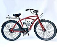 Rear Gas Tank Motorized 66cc Engine & Cruiser Bicycle - Motor Bike Kit -diy