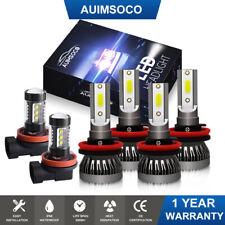 For Cadillac Cts 2008 2009 2010 2011 2012 2013 2014 Led Headlight Fog Lamp Bulbs Fits 2010 Cadillac Cts