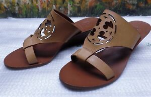 6405344a5 Image is loading Tory-Burch-Zoey-Slide-Wedge-Sandal-Size-5M-
