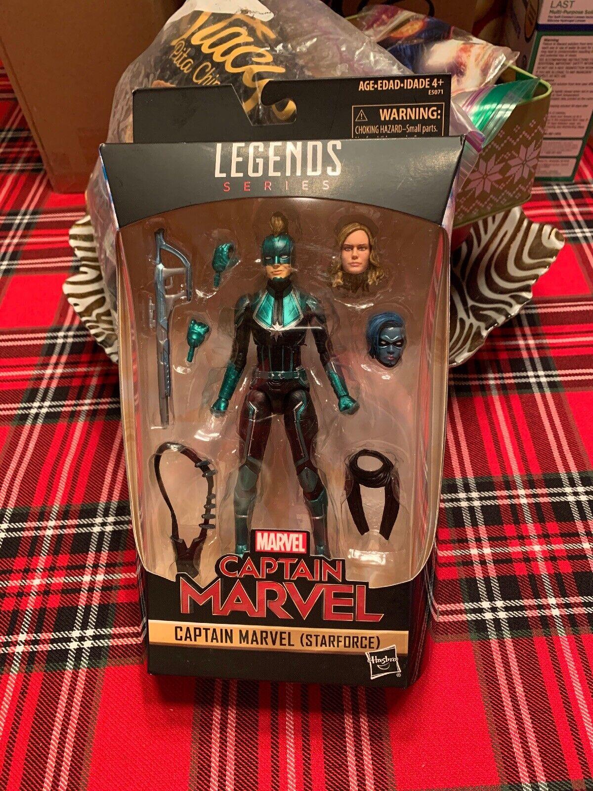 6  Captain Marvel Star force Marvel Legends Series Figure Target Exclusive MIB