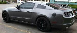 2010-2011-2012-2013-2014-Ford-Mustang-Fuel-Door-Cover-Matte-Black-Decal-Sticker