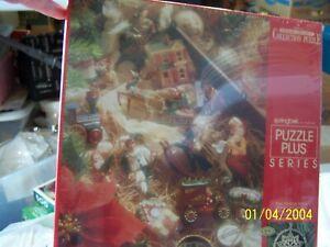 Hallmark Keepsake Ornament Collection 500 Santa Piece Puzzle by Springbok Sealed