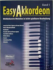Akkordeon-Noten-Easy-Akkordeon-Band-1-leicht-leMittel-Weltbekannte-Melodien