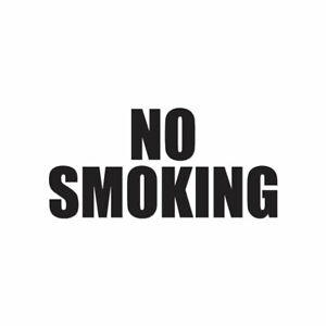 No-Smoking-Vinyl-Decal-Sticker-Multiple-Colors-amp-Sizes-ebn3558