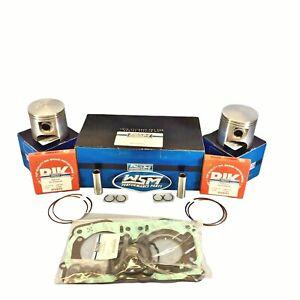 Neuf-WSM-88-75mm-Sur-Alesage-Piston-Joint-Kit-Pour-Sea-Doo-951-GTX-Rx-Di