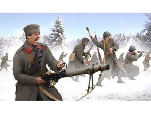 Strelets 1//72 scale serbe Infantry Winter Uniform figures-Contient 1 Spruce