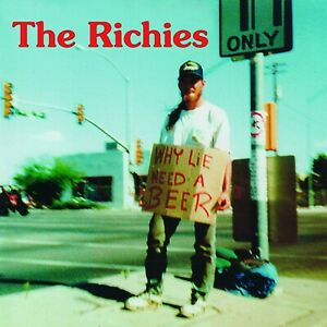 RICHIES-Why Lie? Need a Beer! (Red-marbled vinyl) LP NUOVO