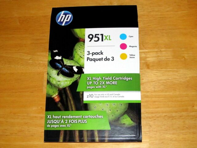 *NEW* Genuine HP 952XL Black /& 952 Color Ink N9K28AN Combo Pack  *Sealed Box*